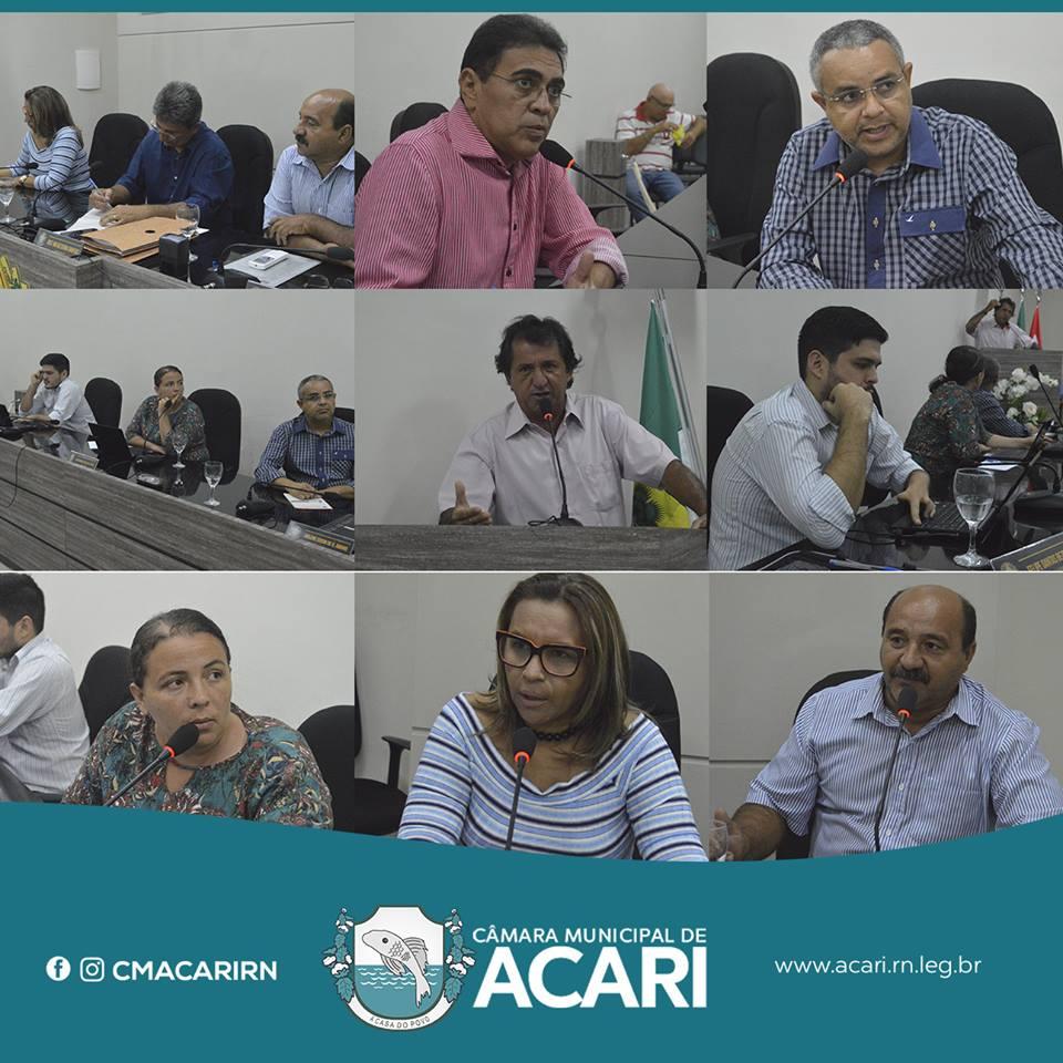VEREADORES APROVAM PPA DO MUNICÍPIO DE ACARI PARA O QUADRIÊNIO 2018-2021