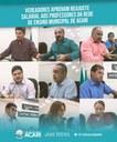 VEREADORES APROVAM REAJUSTE SALARIAL AOS PROFESSORES DA REDE DE ENSINO MUNICIPAL DE ACARI.