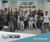 VEREADORES MIRINS APRESENTAM INDICAÇÕES NA PRIMEIRA SESSÃO ORDINÁRIA