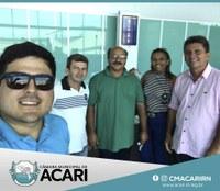 VEREADORES PARTICIPAM DA MARCHA EM DEFESA DOS MUNICÍPIOS EM BRASÍLIA