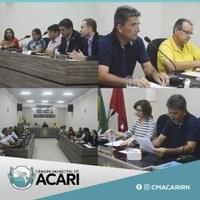 VEREADORES SE REÚNEM COM SUPERINTENDÊNCIA DO BANCO DO BRASIL PARA COBRAR REABERTURA DA AGÊNCIA DE ACARI